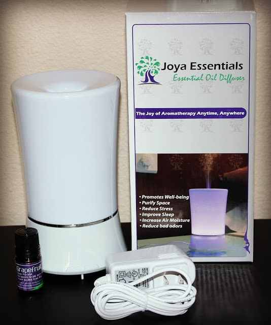 Joya Essentials Essential Oil Diffuser and Essential Oils