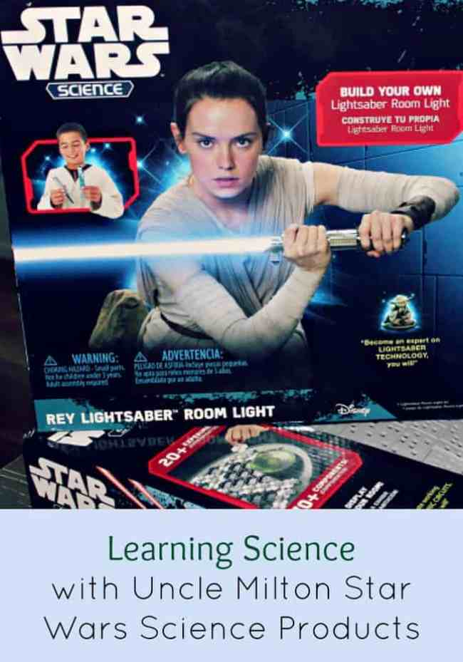 Learning Science with Uncle Milton Star Wars Science Products