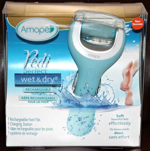 Amopé Pedi Perfect Wet & Dry Rechargeable Foot File