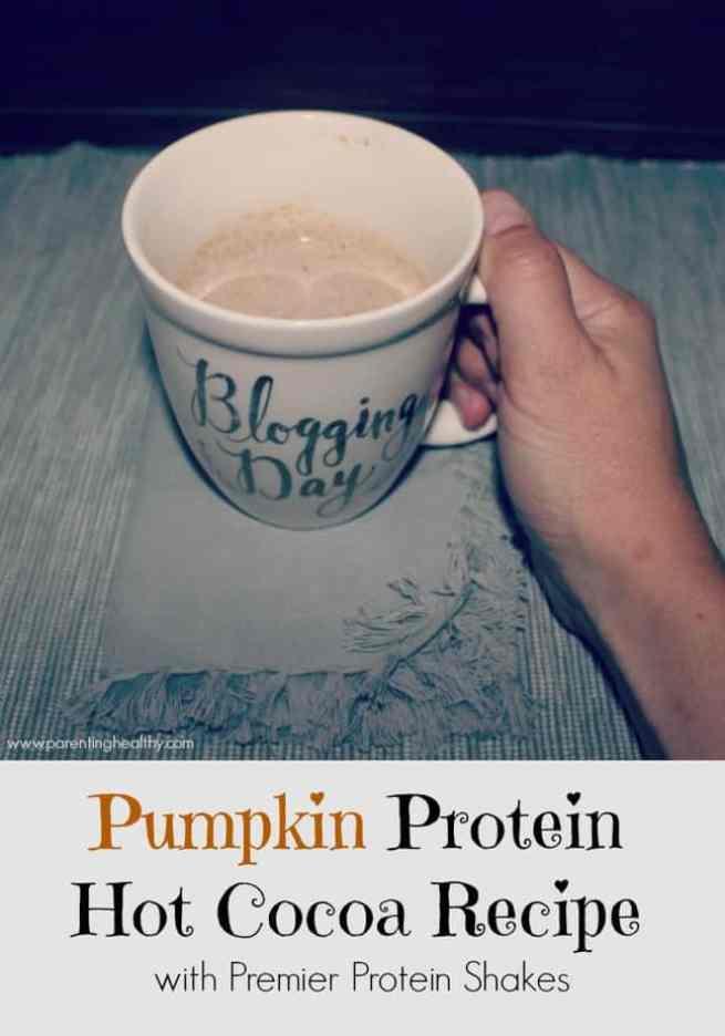 Pumpkin Protein Hot Cocoa Recipe