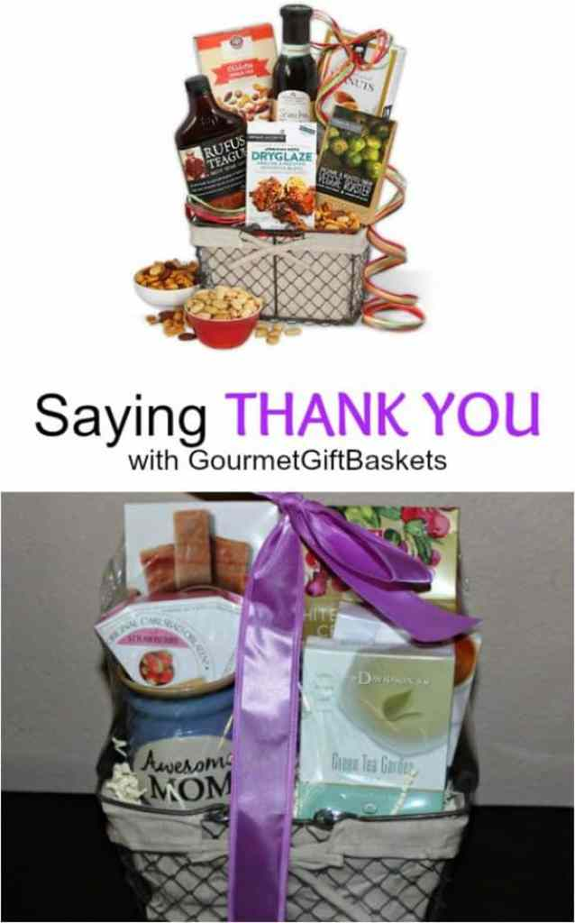 Saying Thank YOu with GourmetGiftBaskets