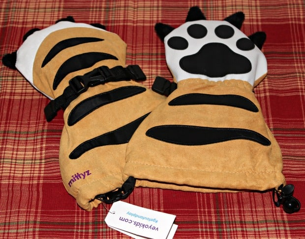 tiger paws winter gloves