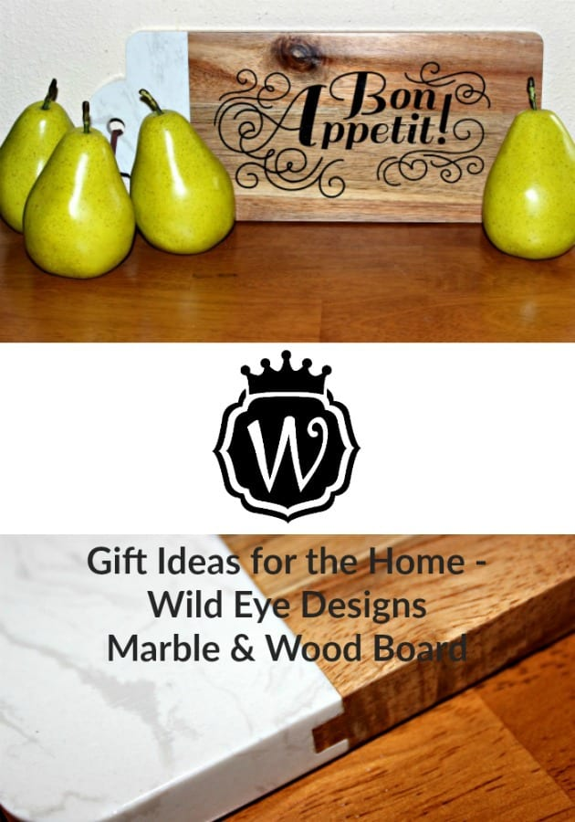 Gift Ideas for the Home - Wild Eye Designs Marble & Wood Board
