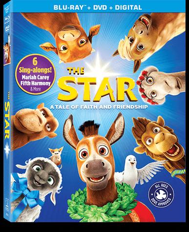 The Star: On Blu-ray + DVD + Digital Has Fun Bonus Features