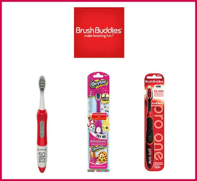 National Smile Month with Brush Buddies