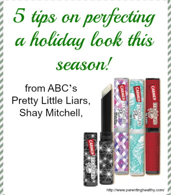 5 tips on perfecting a holiday look this season with Carmex