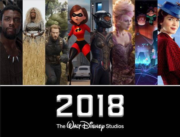 10 Upcoming Disney movies in 2018