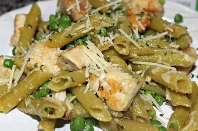 Low Carb Chicken Pea Penne Recipe