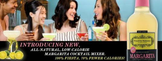 All-natural Powell & Mahoney mixes have a low-calorie mix option for you entertainment beverage