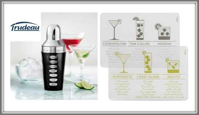 Celebrate and Entertain with Trudeau Bar Drink Products