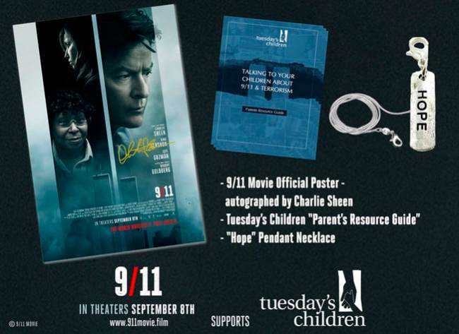 9/11 Movie Prize Pack