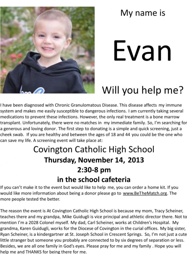 Evan Church Flier