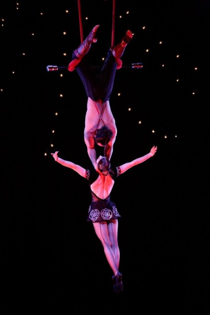 International Award Winning Trapeze Artists Are Featured With College Performers In Circus Arts Show At Circus Mojo May 17