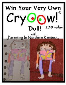 Parenting Beyond!  Cryoow! Doll Giveaway & #ChristmasInJuly Giveaway Hop