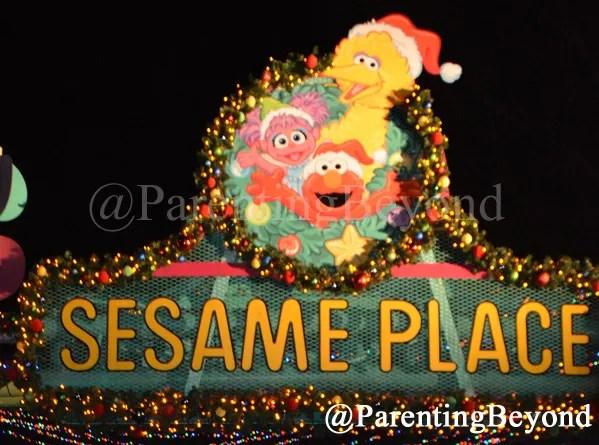 parentingbeyond a sesame place adventure scrapbook park tips sesameplace - Furry Christmas