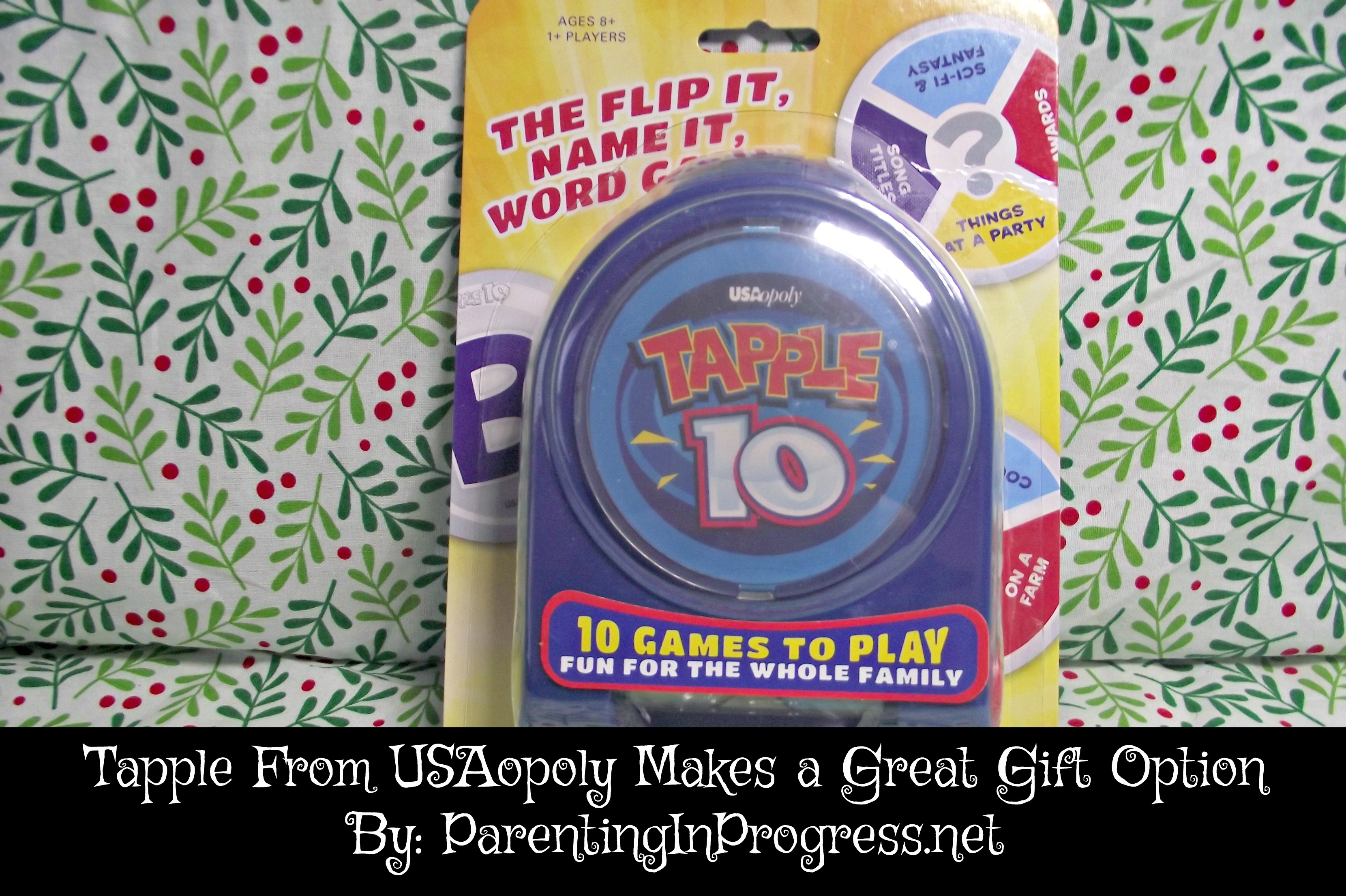 Tapple 10 From USAopoly Makes a Great Gift Option