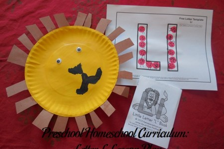Preschool Homeschool Curriculum  Letter L Lesson Plan   Parenting Patch Letter L Preschool Activities