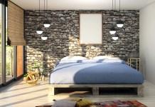 mattress in a room