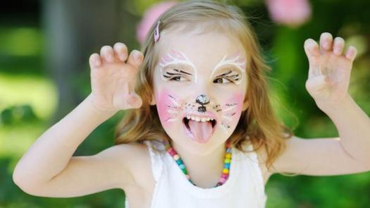 Safe And Easy Homemade Face Paint For Kids