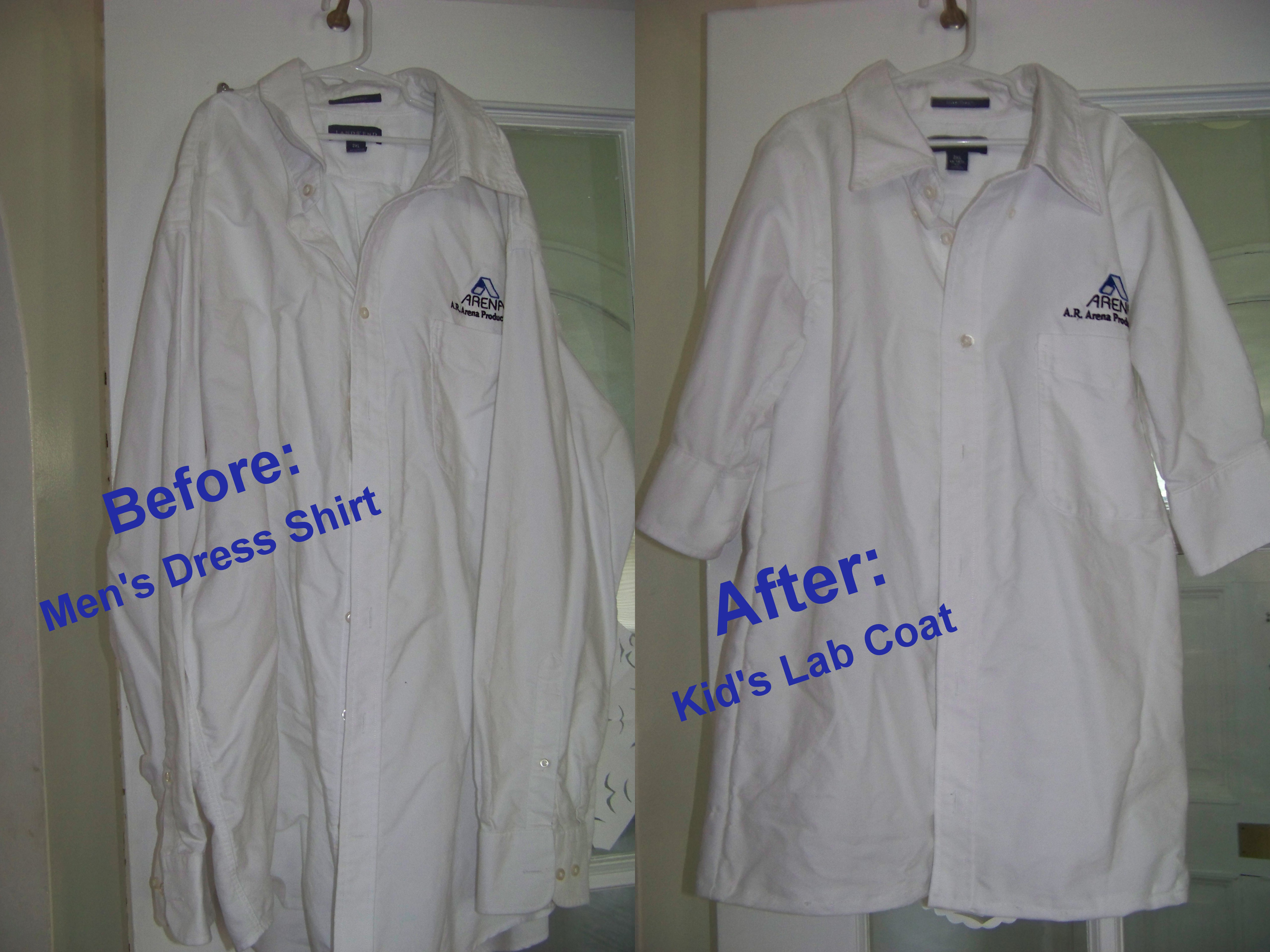 Tutorial How To Make A Child S Lab Coat
