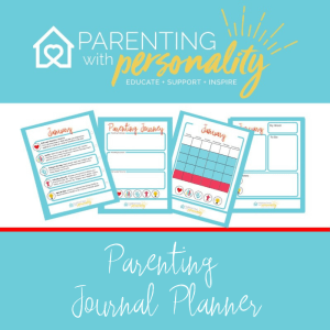 Get your 72-page Parenting Journal Planner Here $5