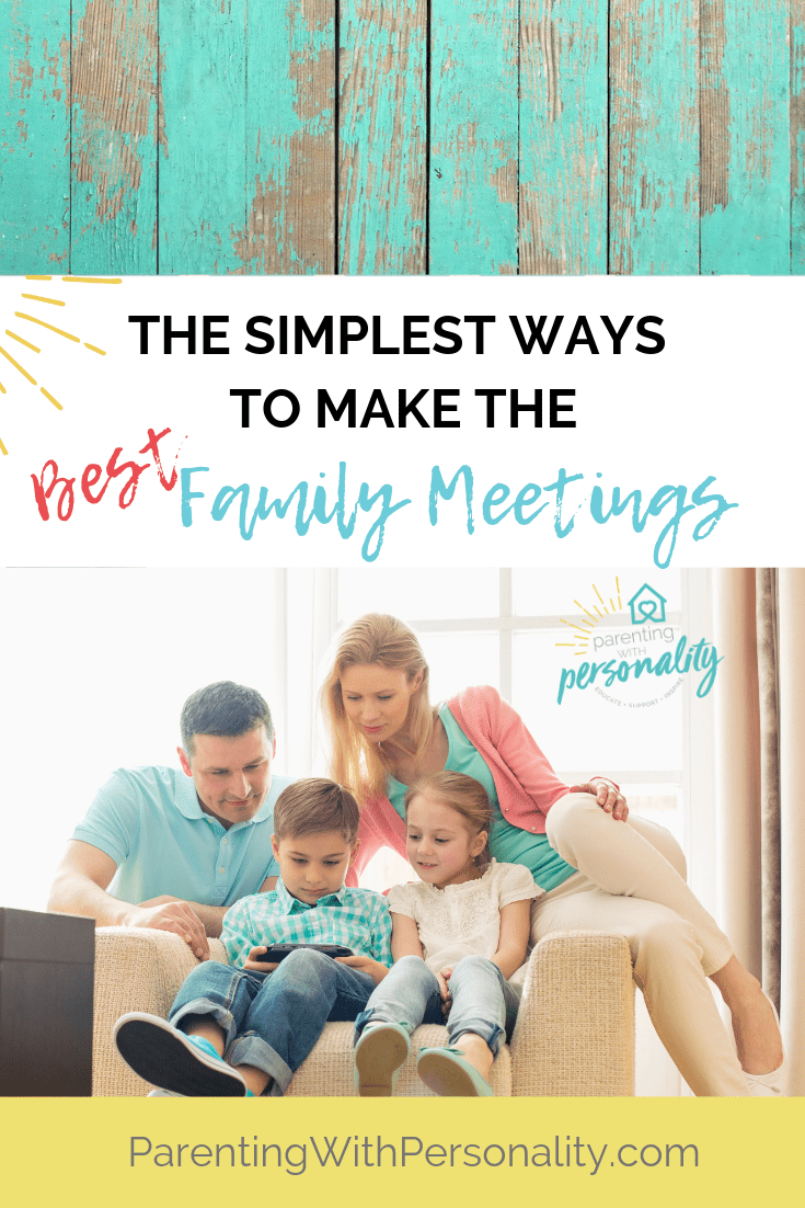 Simplest ways to make the best family meetings