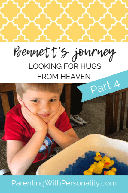 Looking For Hugs From Heaven: Bennett's Journey Continued- Craniosynostosis Awareness Month 2019