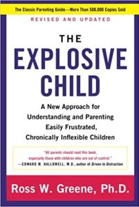 The Explosive Child by Ross Green, PhD book cover image