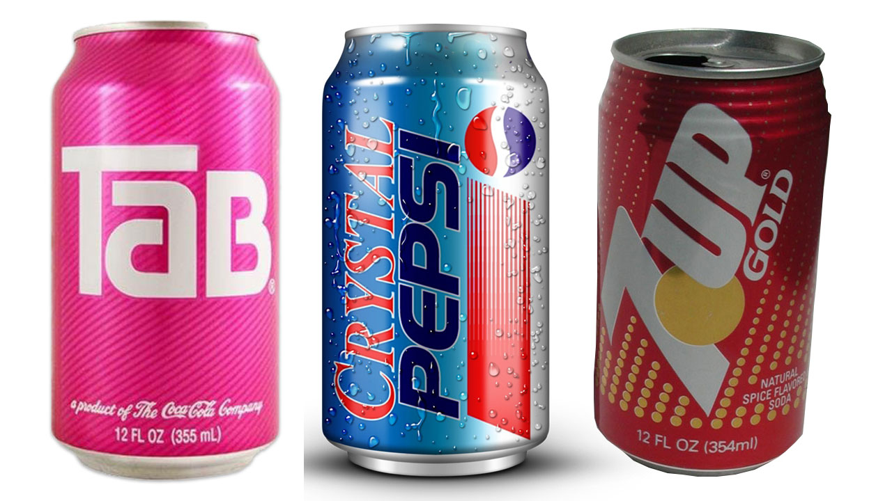 discontinued sodas kids today will