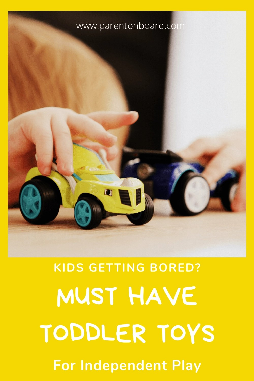 Must Have Toddler Toys for Independent Play
