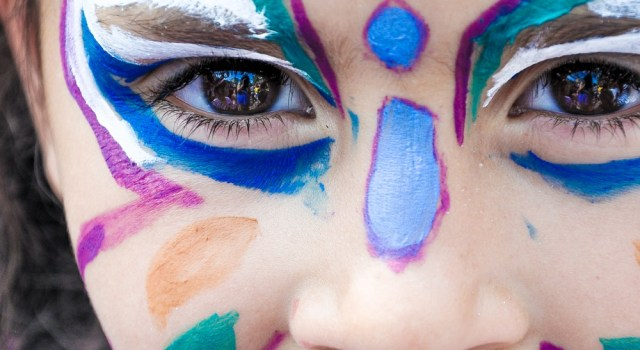 Maquillage carnaval tradition education