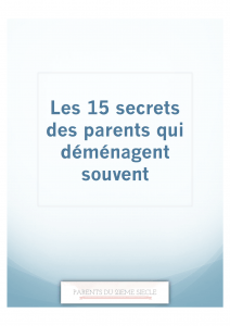 Image 15 secrets de parents experts