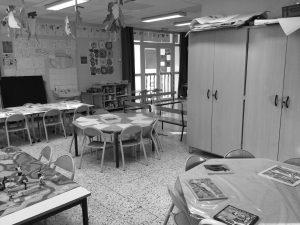 Salle de classe traditionnelle