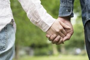 Enfant différent couple solidarité