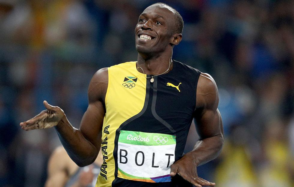 Usain Bolt pression rentree scolaire