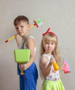 Enfants taches menageres reussite scolaire