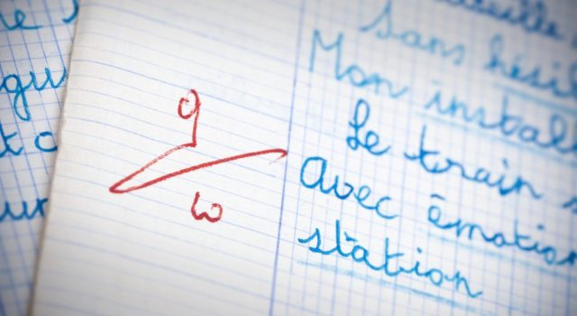 Erreurs et notes à l'école