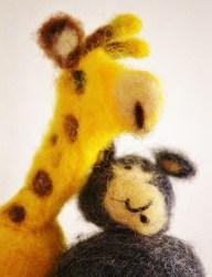 chacal et girafe CNV
