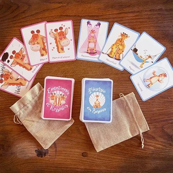 pack de cartes léti gribouille sentiments et besoins