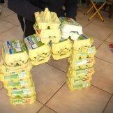 jeu de construction en boite d'oeufs, legos géants, motricité, parents-epanouis.com