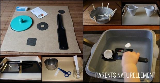 activités Montessori presque gratuites