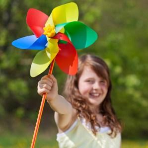 bricolage de printemps moulin à vent