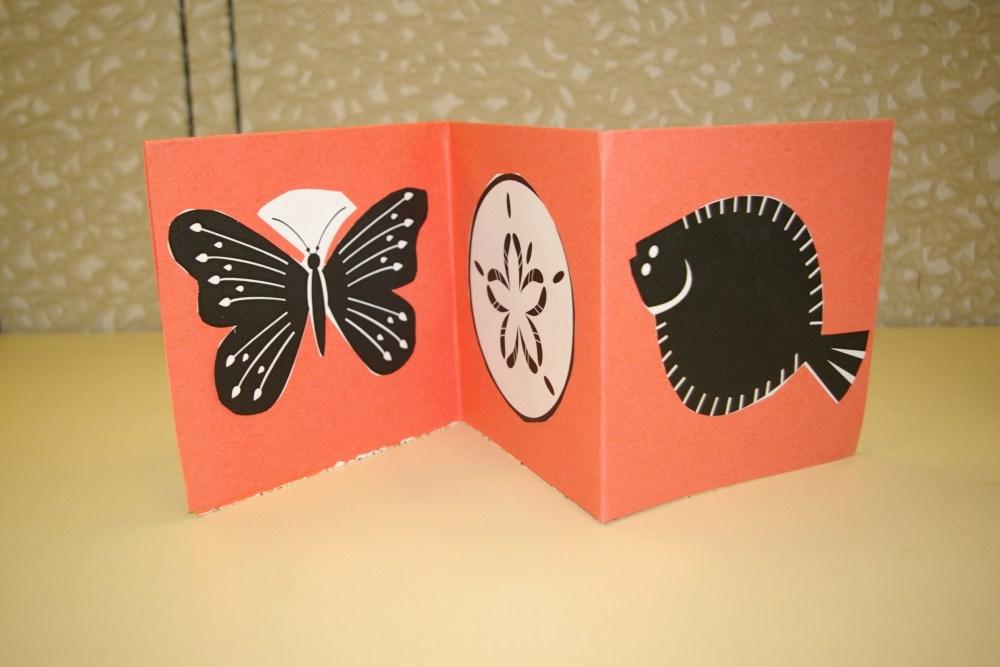 Make an accordion book (2/2)