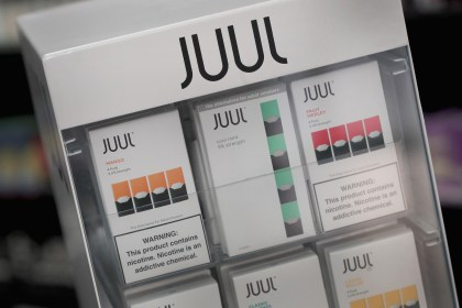 Electronic cigarettes and pods by Juul vaping