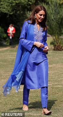 The Duchess visits Margalla Hills in Islamabad today