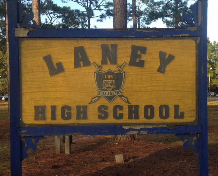 Laney High School was the target of a 'hoax' threat that circulated on social media. (Port City Daily photo / File)