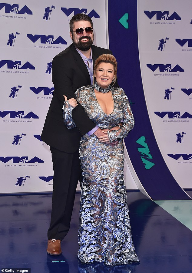 Better times:Glennon and Portwood were snapped at the 2017 MTV VMAs in LA