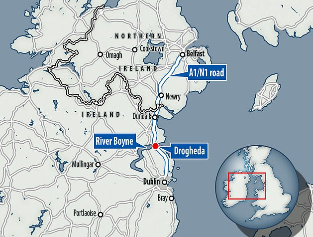 Three people, including Mulready-Woods, have been killed as part of a feud between rival gangs in Drogheda, which is located between Dublin and Belfast