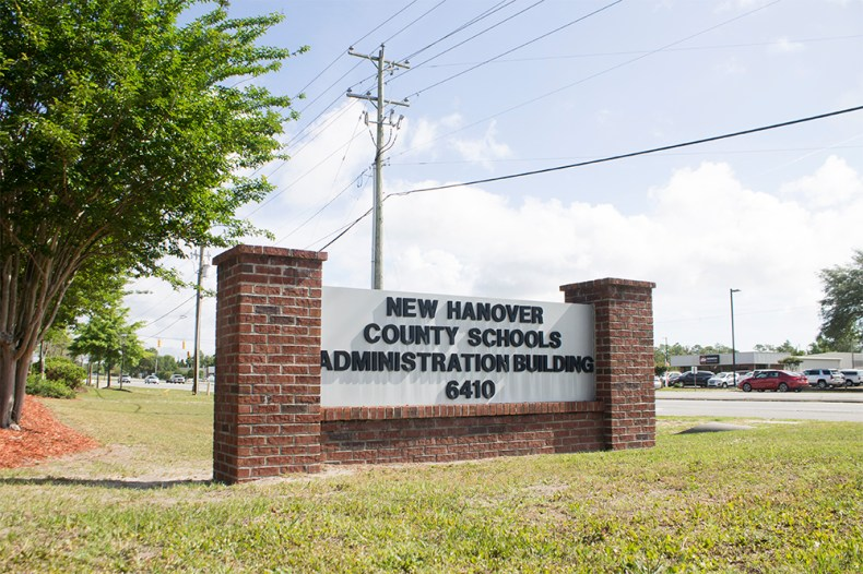 The DA along with Sheriff have requested an outside investigation into allegations against New Hanover County Schools administration. (Port City Daily photo/Johanna Ferebee)