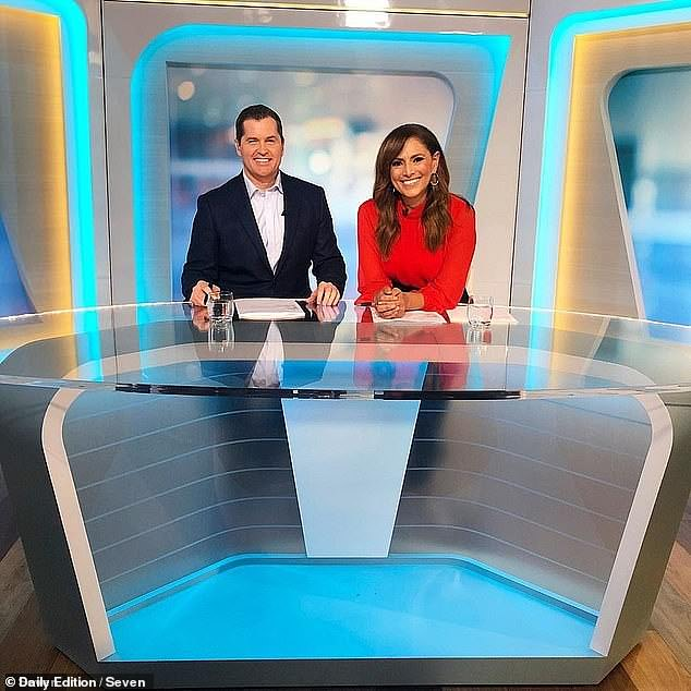 The alleged incident comes just says after Phelan's Channel 7 program The Daily Edition announced it was being axed. Pictured with co-host Sally Obermeder